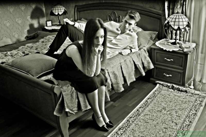 Из-за частых проявлений ревности портятся отношения