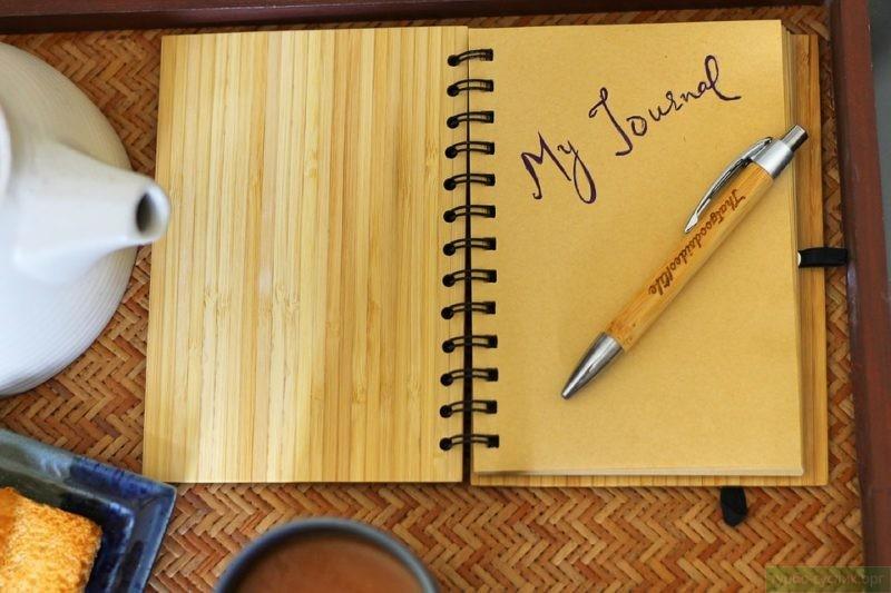 В личный дневник можно записывать переживания